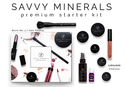 Savvy Minerals Starter Kit cropped small